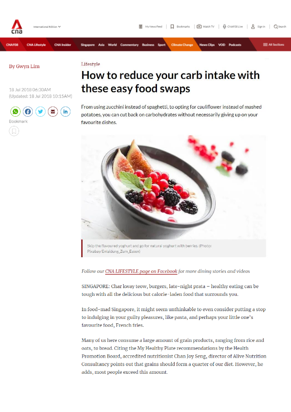 How to Reduce Your Carb Intake With These Easy Food Swaps-thumbnail